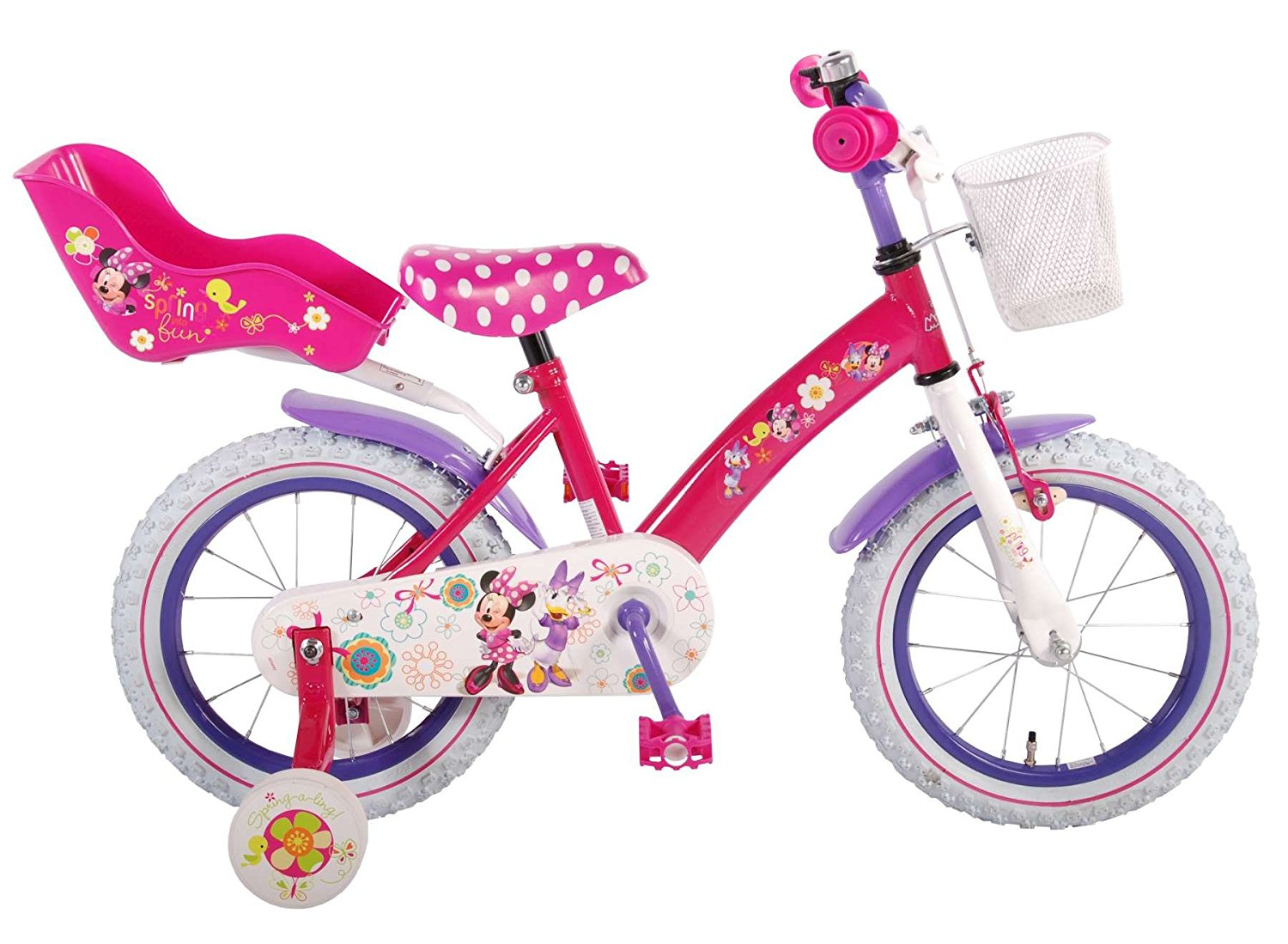 volare disney minnie bow tique 31426 kinderfahrrad 14 zoll. Black Bedroom Furniture Sets. Home Design Ideas